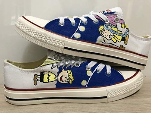 - Snoopy Anime Hand Painted Shoes For Women Hand Painted Shoes Custom Chuck Taylors Chuck Taylor FREE SHPPING