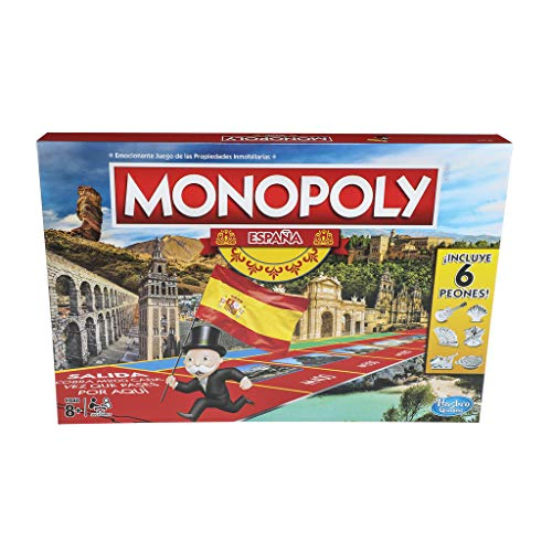 (Hasbro-Game Monopoly Spain (1654e))