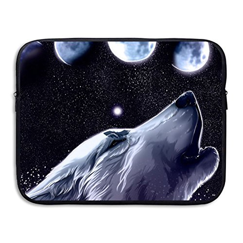 Moon Total Solar Eclipse Laptop Sleeve Case Bag Cover For 13-15 Inch Notebook Computer Eclipse Solar Bag