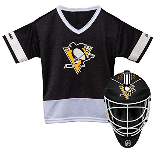 Franklin Sports NHL Pittsburgh Penguins Youth Team Uniform Set, Black, One Size – DiZiSports Store