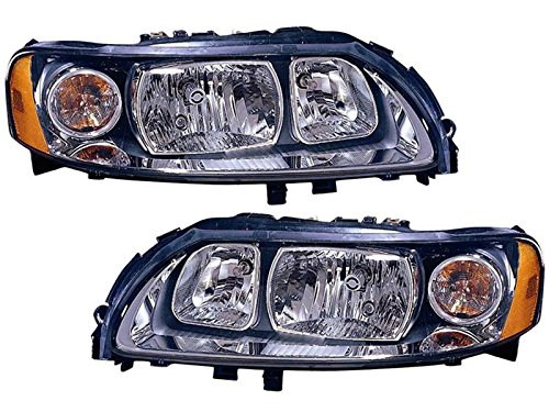 Volvo S60 2.5T T5 05-09 Halogen Head Light Lamp With Bulb ...