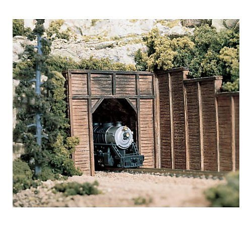 Woodland Scenics N Timber Tunnel Portal (2), WDS1154