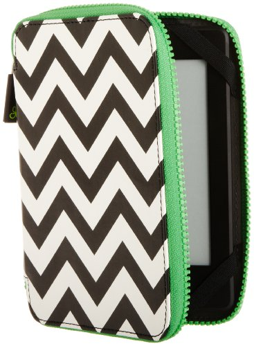 punchcase-by-leslie-hsu-ace-zip-around-cover-black-white-chevron-fits-kindle-paperwhite-and-touch