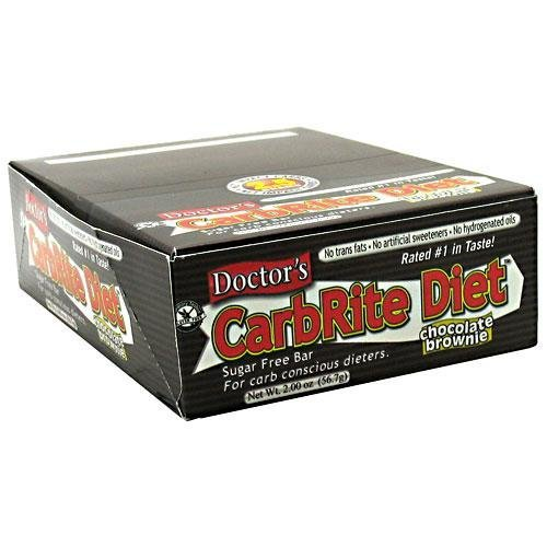 CarbRite Diet Bar - Chocolate Brownie-Box Universal Nutrition 12 Bars Box by Universal Nutrition by Universal Nutrition