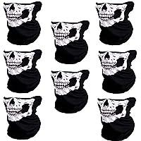 CIKIShield Seamless Skull Face Mask Bandana Motorcycle...