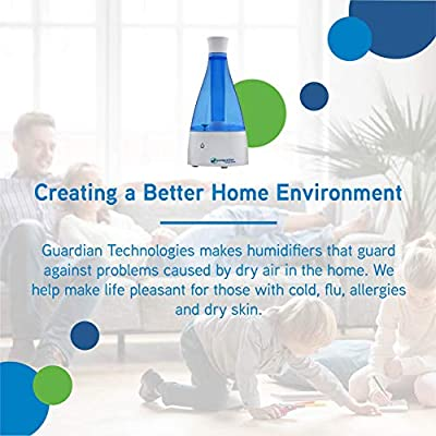 PureGuardian H920BL Ultrasonic Table Top Humidifier with Beaker
