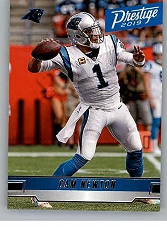 ab25c04c Amazon.com: 2019 Prestige Football #14 Cam Newton Carolina Panthers ...