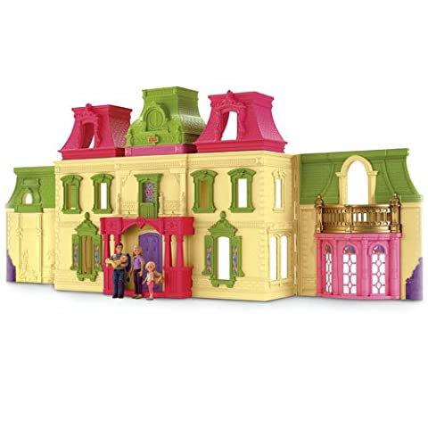Fisher-Price Loving Family Dream Dollhouse with Caucasian Family(Discontinued by manufacturer) - Fisher Price Loving Family Dolls