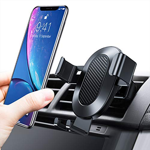 TORRAS Cell Phone Holder for Car, Auto-Clamping Air Vent Car Mount Holder Cradle...