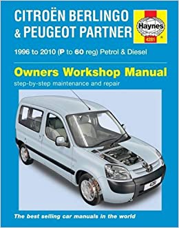 Citroen berlingo and peugeot partner service and repair manual citroen berlingo and peugeot partner service and repair manual haynes service and repair manuals na 9780857339508 amazon books fandeluxe Images