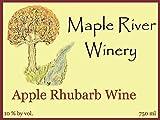 Apple Rhubarb wine