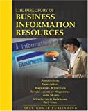 Directory of Business Information Resources, , 1592371469