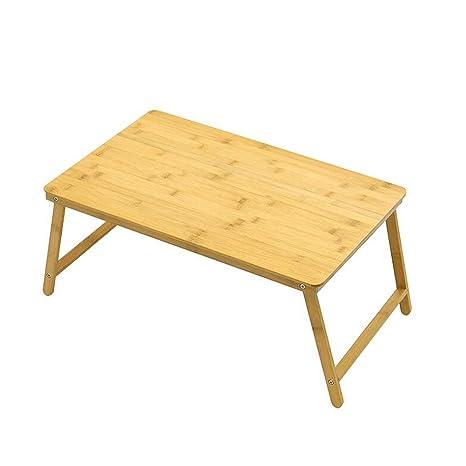 XUERUI Mesa Ordenador Portátil 100% Portátil Bambú Plegable (Tamaño : T2)