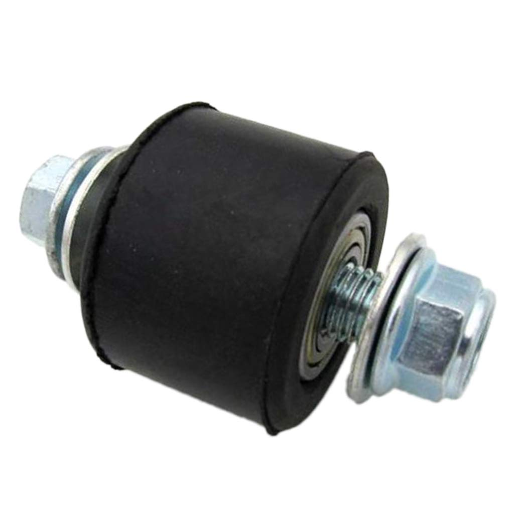 perfk Black Pulley Tensioner Guide Wheel Chain Roller 10mm for Motorcycle Dirt Pit Bike