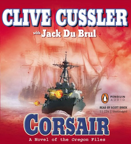 Corsair (The Oregon Files) by Penguin Audio