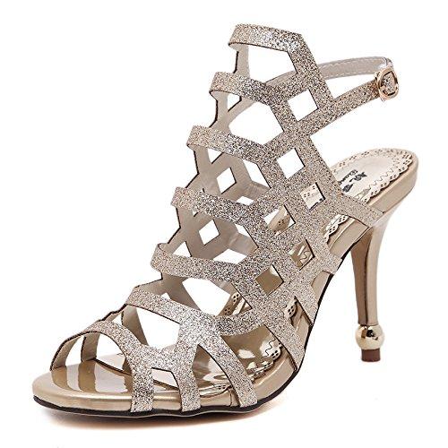 tacones zapatos y altos y y primavera vacíos son los delgados puntiagudos En Golden los verano wHIq5ff8