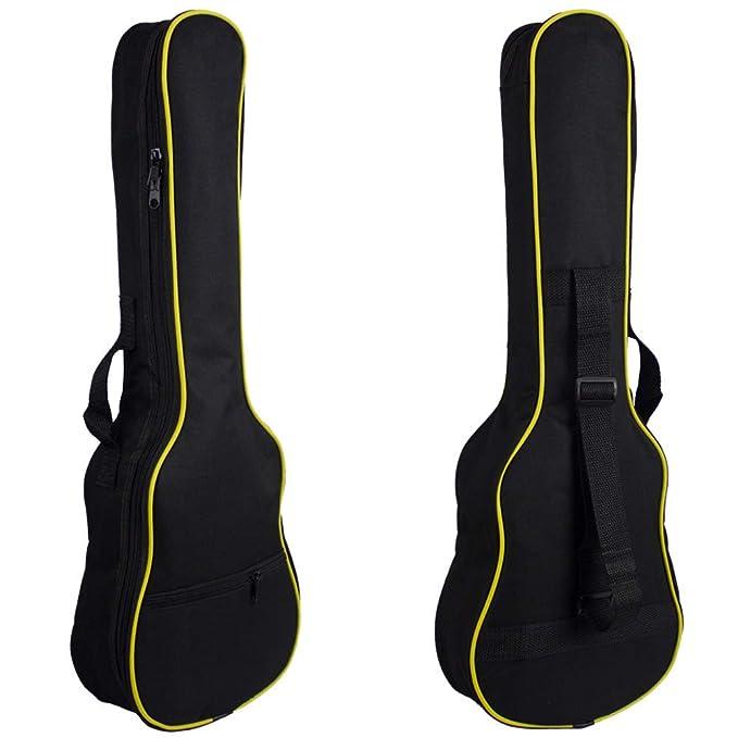 Rocita Mini Bolsa de la guitarra,Funda de Ukulele Mochila de ...