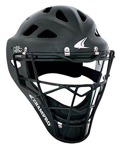 (Champro Hockey Style Headgear, Black, 7