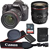 Canon EOS 6D 20.2 MP CMOS Digital SLR Camera with 3.0-Inch LCD With EF 24-70mm F/4 L IS USM Lens - Wi-Fi Enabled (Certified Refurbished)