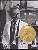 img - for Dr. James D. Watson's Nobel Medal and Related Papers (Thursday 4 December 2014) book / textbook / text book