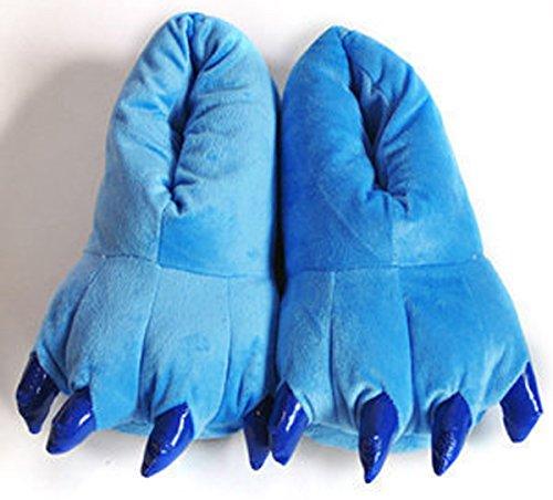 Otoño Talla Casa Cálido EU Animal Azul 38 Halloween Festival Slipper Zapatillas 38 34 de Pata Aivtalk Para Disfraz Garra Franela Invierno Cosplay Suave de de Disfraz Carnaval Navidad 45 wxvfaBAtq