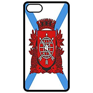 Rio De Janiro Flag - Black Apple Iphone 6 (4.7 Inch) Cell Phone Case - Cover
