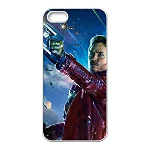 iPhone 5,5S Phone Case White Guardians Of The Galaxy ZKH9368730