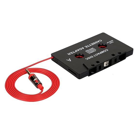 per bspw iPod aux di cassette Adapter MD o DAT o smartphone lettore MP3 Discman CD iPhone Facile tua autoradio con cassette convertire ingresso jack da 3.5/mm Auto Radio Adattatore