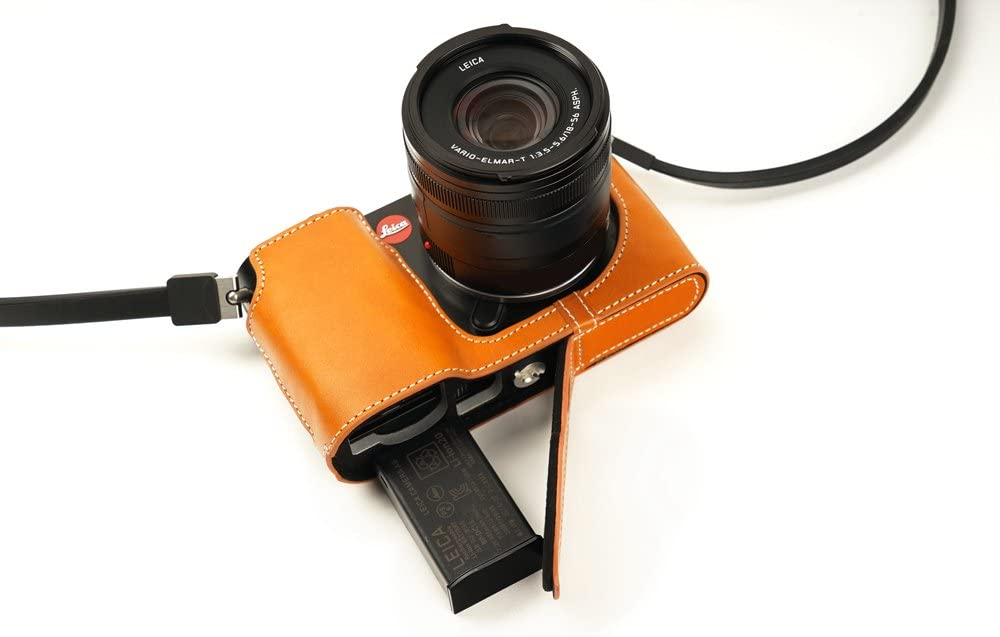 Yellow Leica TL2 Leather Protector Case