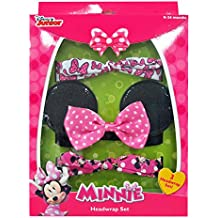 Minnie Mouse Hair Accessory Box Set with Assorted Headwraps