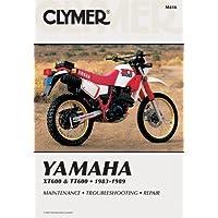 Yam Xt600 & Tt60 83-89: Clymer Workshop Manual (Clymer Manuals: Motorcycle Repair)