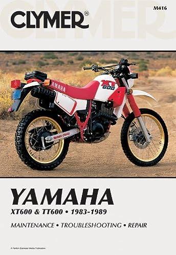 yamaha xt600 tt60 83 89 clymer manuals motorcycle repair rh amazon com yamaha banshee clymer manual download yamaha virago clymer manual