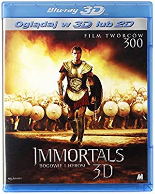 Immortals Blu-Ray 3D Region Free IMPORT No hay versión española ...