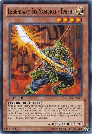 Yu-Gi-Oh! - Legendary Six Samurai - Enishi (SDWA-EN017) - Structure Deck: Samurai Warlords - 1st Edition - Common