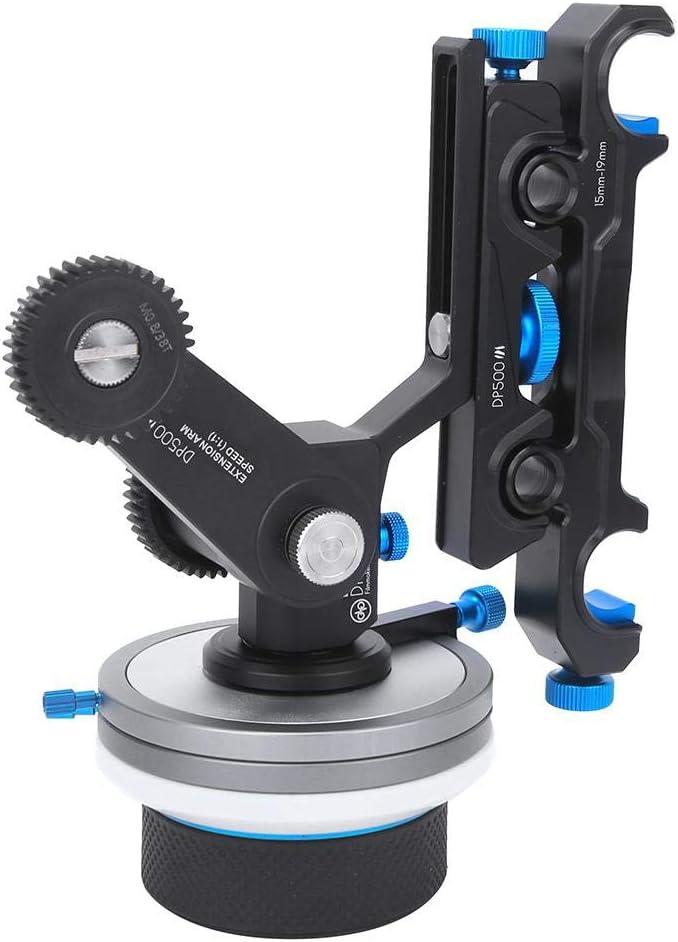 FOTGA DP500III Dampen Follow Focus 15mm//19mm Slider Rig Arm Kit for BMPC FS100 FS7 5DII A7 Camera Pomya Follow Focus