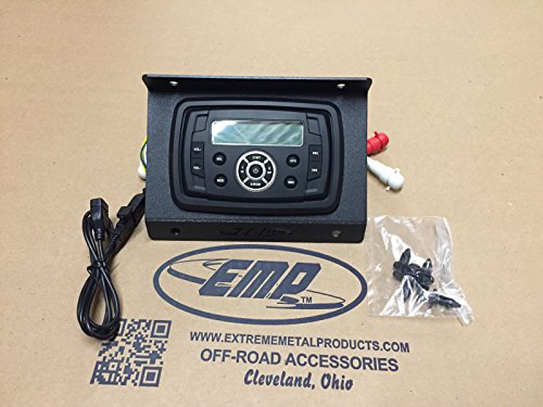 John Deere Mule (In-Dash Bluetooth Stereo with USB Port for Polaris RZR Razor UTV Utility Vehicle)
