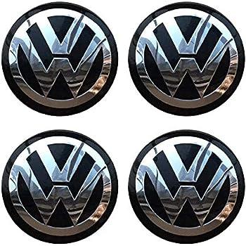 Amazon.com: CCBaseball Set of 4 - Volkswagen Wheel Center ...