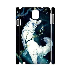 wolf Personalized 3D Cover Case for Samsung Galaxy Note 3 N9000,custom wolf Case