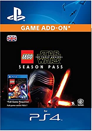 LEGO Star Wars: The Force Awakens Season Pass [PS4 PSN Code - UK ...
