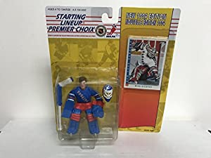 Mike Richter New York Rangers Goalie Legend Collectible Toy Action Figure with Trading Card