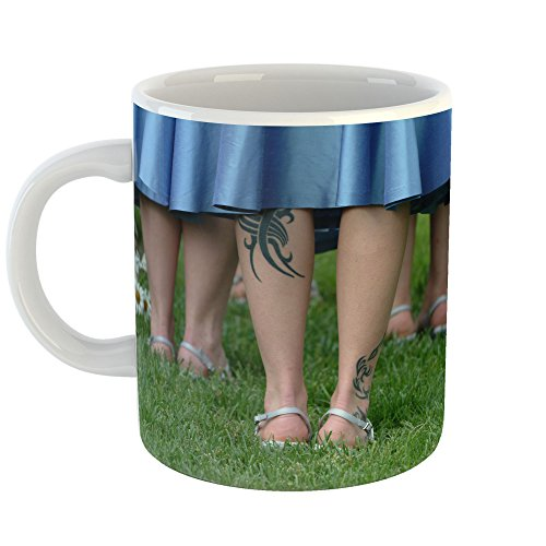 Sandals Womens Dress Bouquets (Westlake Art - Wedding Footwear - 11oz Coffee Cup Mug - Modern Picture Photography Artwork Home Office Birthday Gift - 11 Ounce (98AD-17123))
