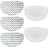 CKL&DJ 5 Pack Mop Pads Replacement for Bissell Powerfresh Steam Mop 1940 1440 1544 1806 2075 Series, Models 19402 19404 19408 1940A 1940Q 1940T 1940W(Included 2 Soft Pads+3 Scrubby Pads)