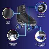Chicago Men's Classic Roller Skates - Premium Black