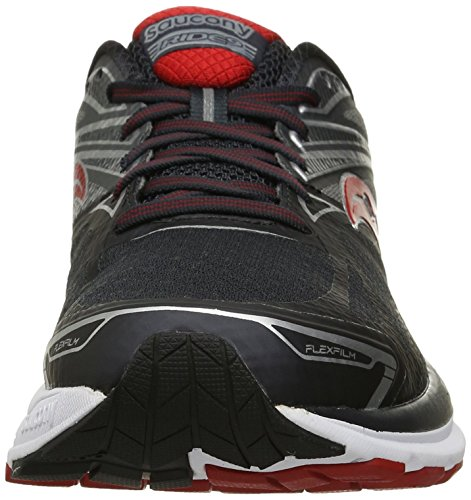 9 Grey Entra Course Saucony Pop Homme Red de Charcoal nement Ride 5wn811txSp
