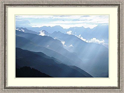 himalayan mountains poster