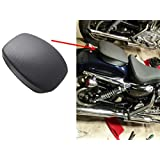 Rear Passenger Pillion Pad Seat For Harley Sportster XL883N XL1200X Super Low XL883L Super Low XL1200T Low Police XL883LP Hard Candy Custom XL883N Dark Custom XL883N Custom XL1200C 2012 -2016