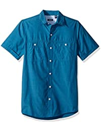 Men's Saltwater Breeze Solid Short Sleeve Shirt