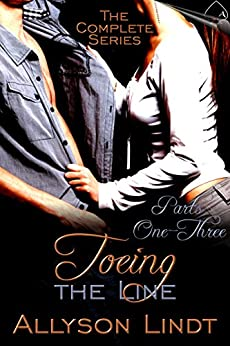 Toeing the Line by [Lindt, Allyson]