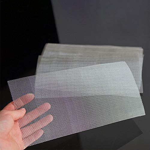 Macddy Car Bumper Protector Stainless Steel Repair Net Plastic Crack Repair Hole Repairing Mesh Net