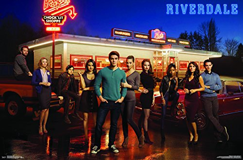 "Trends International Riverdale-Group Wall Poster, 22.375"" x 34"", Multicolor"
